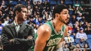 Brad Stevens says Enes Kanter is progressing, but 'isn't ready to play'