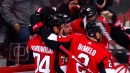 Senators miraculously score two goals just four seconds apart