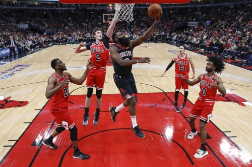 Rockets take care of business against Bulls, win third straight