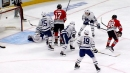 Patrick Kane & Kirby Dach score just 10 seconds apart against Maple Leafs