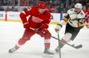 Detroit Red Wings 3, Vegas Golden Knights 2: Photos from LCA