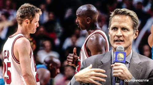 Warriors coach Steve Kerr reveals what playing with Michael Jordan taught him