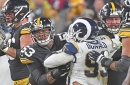 Aaron Donald wrecks shop, but not a Steelers win against new-look offensive line