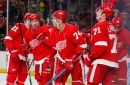 Detroit Red Wings' defenseman improvises for rare goal in second straight win