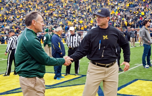 Big Ten power rankings: How far behind Michigan football is Michigan State?