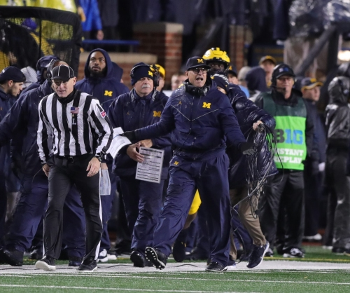 Jim Harbaugh says Michigan football on 'high alert' for Michigan State trick plays
