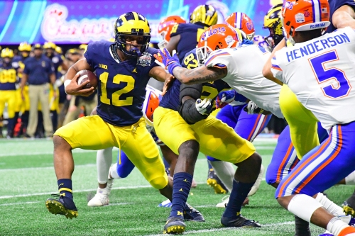 Michigan football running back Chris Evans to be reinstated in January, rejoin team