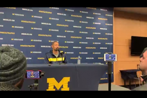 Michigan basketball's Juwan Howard talks about development of Colin Castleton