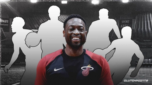 Dwyane Wade's all-time starting 5 features players he won titles with