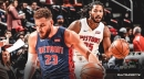 Blake Griffin says it's a 'luxury' learning how to play with Derrick Rose on Pistons