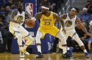 How will the battered Warriors match up with LeBron's Lakers?