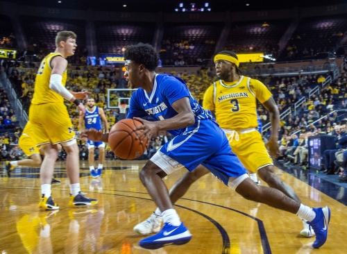 Michigan vs. Creighton: Photos from Crisler Center