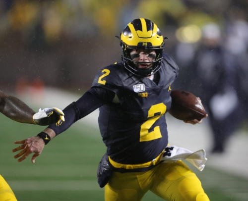 Shea Patterson cured his fumblitis and Michigan football is healthier
