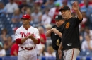Giants pick ousted Phillies manager Gabe Kapler to succeed Bruce Bochy