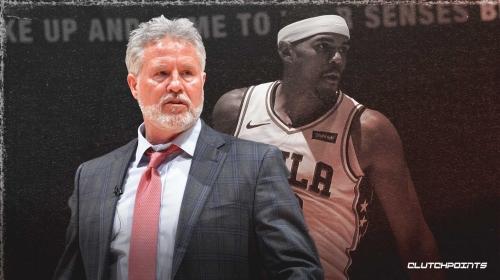 Brett Brown reveals Tobias Harris had a stomach virus before Sixers' game vs. Cavs