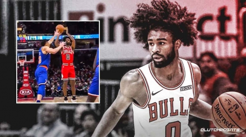 VIDEO: Bulls' Coby White sets franchise, NBA rookie record for most 3-pointers in a quarter with 7 triples