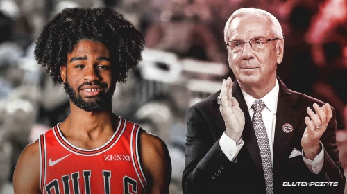 Tar Heels coach Roy Williams reveals what he told Bulls rookie Coby White before career night