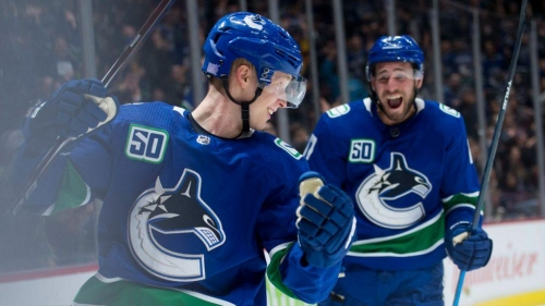 Elias Pettersson's 'sixth sense' on display in Canucks victory