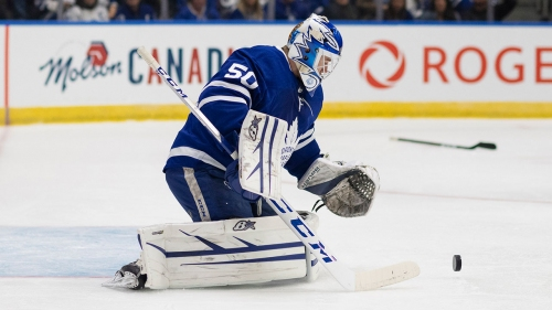 31 Thoughts: Maple Leafs not sweating goaltending situation