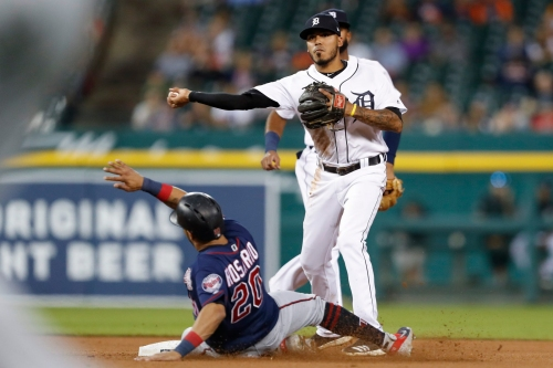 Infielder Harold Castro named Detroit Tigers' rookie of the year by local media