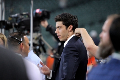 Report: No contract extension talks yet between Brewers, Christian Yelich