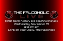 The Falcoholic Live: Ep92 - Saints Victory and Coaching Changes