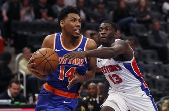 Pistons' Thomas has foot surgery, out for at least 6 weeks