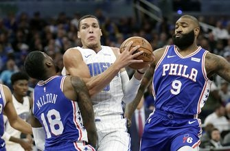 Vucevic, big 4th quarter sent Magic past 76ers 112-97