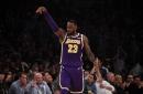LeBron James' Double-Double Leads Lakers Past Warriors Without Anthony Davis, Rajon Rondo