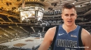 Mavs' Kristaps Porzingis admits it will be 'weird' to be in the visitors' locker room vs. Knicks