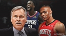 Rockets coach Mike D'Antoni disagrees with Russell Westbrook's estimation of Patrick Beverley