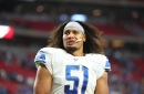 Why Detroit Lions rookie Jahlani Tavai already is a trusted quarterback on defense