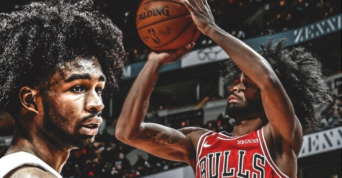 Bulls' Coby White sets NBA record for most 3-pointers made by rookie in consecutive games