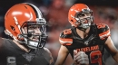 Browns QB Baker Mayfield extends lead with a TD pass to Stephen Carlson