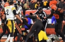 Browns beat Steelers 21-7, as ugly scene ensues in Cleveland