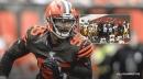 Browns' Myles Garrett swings helmet, hits Steelers' Mason Rudolph