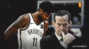 Nets coach Kenny Atkinson doesn't think Kyrie Irving's shoulder injury will be a long-term issue