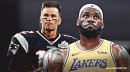 LeBron James compares himself to Tom Brady when discussing career longevity