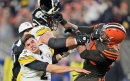Video: Le'Veon Bell reacts to Steelers-Browns brawl: 'He took it way too far.'