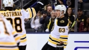 Marchand scores twice in 3rd, Boston hands Toronto 4th straight loss