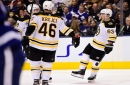 Marchand scores twice as Bruins extend Leafs losing streak