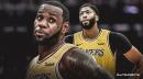 Lakers superstar LeBron James marvels at Anthony Davis being a 'hybrid' defensively