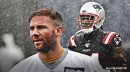 Patriots WR Mohamed Sanu doing an 'unbelievable job' gaining Tom Brady's trust, Julian Edelman says