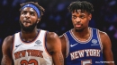 Mitchell Robinson will continue to come off bench to preserve lob combo with Dennis Smith Jr.