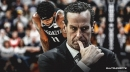 Kenny Atkinson says Kyrie Irving was playing through pain since Nets-Jazz game