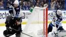 Hellebuyck lifts Jets over Lightning; Stamkos gets 400th goal