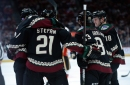 Darcy Kuemper stands tall, wins brawl in Coyotes' win over Flames