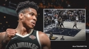 Bucks video: Giannis Antetokounmpo embarrasses two Pacers defenders with poster dunk