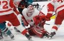Detroit Red Wings vs. San Jose Sharks: Photos
