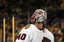 Chicago Blackhawks Goalies Dazzles In Net